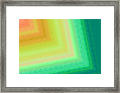 Into The Tunnel 2 Framed Print by Karen Nicholson