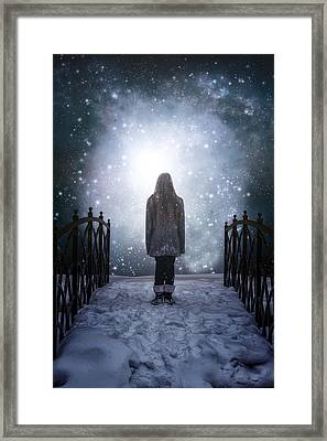 Into The Unknown Framed Print by Joana Kruse