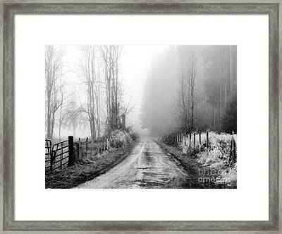 Into The Unknown Framed Print by Rory Sagner