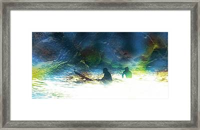 Into The Void Framed Print by Robert Ball