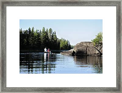 Into The Wilderness Framed Print by Larry Ricker