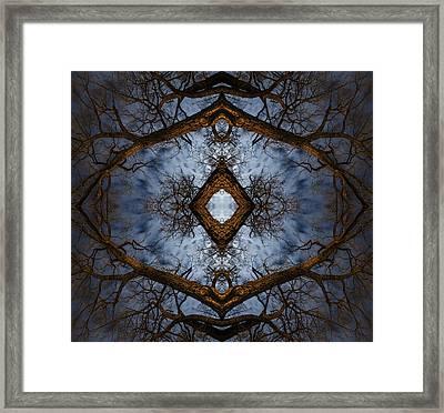 Intricate Eye In The Sky Framed Print by Matt Molloy