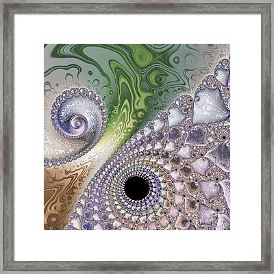 Intricate Framed Print by Heidi Smith