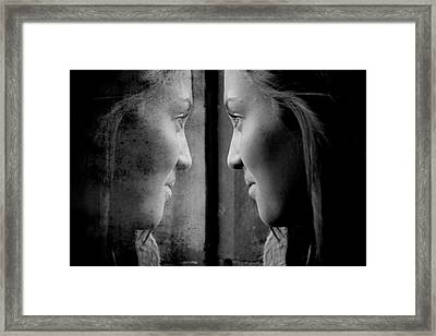 Introspection Framed Print by Lisa Knechtel