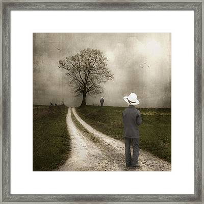 Introspection Framed Print by Tom Mc Nemar