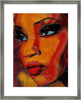 Intuition Framed Print by  Fli Art
