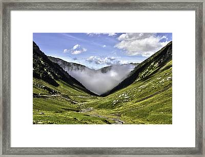 Framed Print featuring the photograph Invasion by Thierry Bouriat