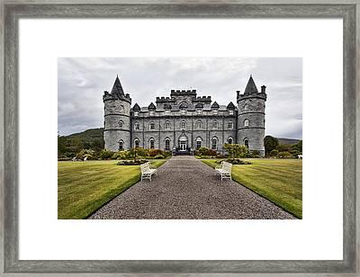 Inveraray Castle Argyll Framed Print by Marcia Colelli