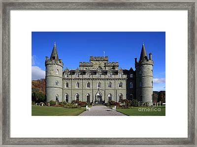 Inveraray Castle Framed Print by Maria Gaellman