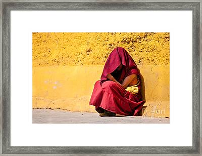 Invisibility Framed Print by Immanuel Vinikas