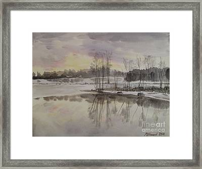 Invisible Sun Framed Print by Martin Howard