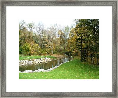 Inviting Nature Walk Framed Print by Suzanne Perry