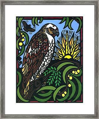 Io Hualalai Framed Print by Lisa Greig