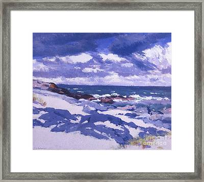 Iona Above Mermaids Framed Print by Francis Campbell Boileau Cadell