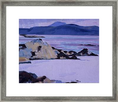 Iona  The North End Framed Print by Francis Campbell Boileau Cadell