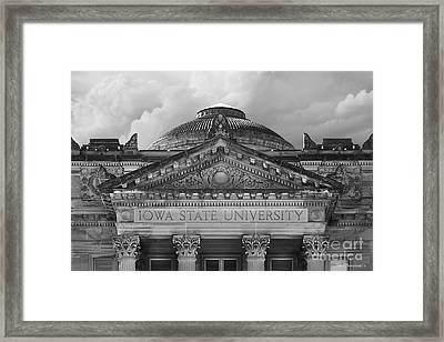 Iowa State University Beardshear Hall Framed Print by University Icons
