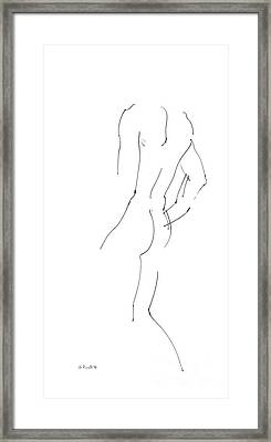 iPhone-Case-Nude-Male2 Framed Print by Gordon Punt