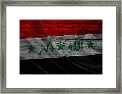 Iraq Framed Print by Joe Hamilton