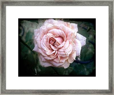 Irene In The Evening II Framed Print by Louise Kumpf