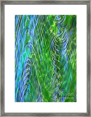 Iridescence Framed Print by Carol Groenen