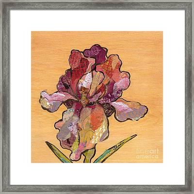 Iris II - Series II Framed Print by Shadia Derbyshire
