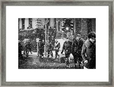 Irish Recession Framed Print by Marcio Faustino
