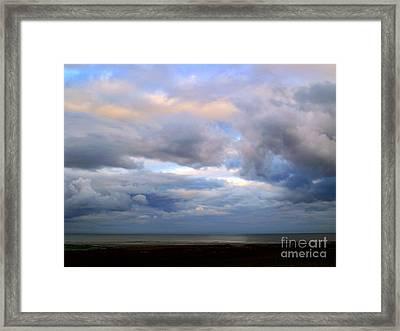 Irish Sea Framed Print by Nina Ficur Feenan