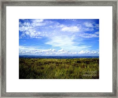 Irish Sky Framed Print by Nina Ficur Feenan