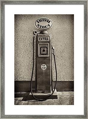 Irish Stout On Tap, De Luans Bar Framed Print by Panoramic Images