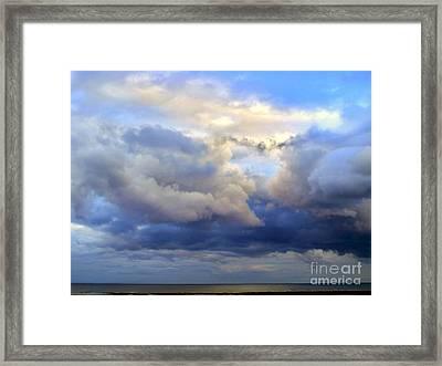Irish Skyscape Framed Print by Nina Ficur Feenan