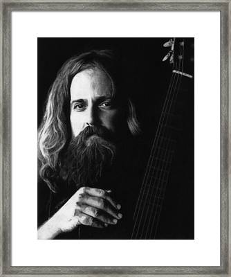 Iron And Wine Framed Print by Justin  Clark