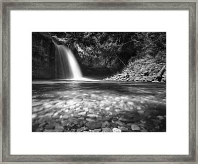 Iron Creek Falls Framed Print by Kyle Wasielewski