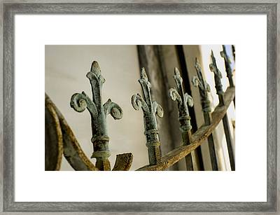 Iron Gates Framed Print by Alicia Morales