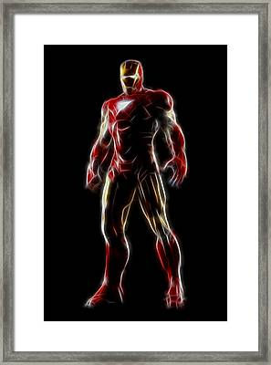 Iron Man - Tony Stark Framed Print by - BaluX -