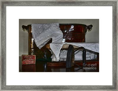 Ironing Day Framed Print by Paul Ward