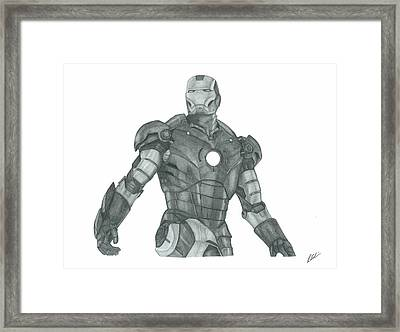 Ironman Framed Print by Rich Colvin