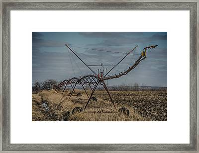 Irrigation System Framed Print by Paul Freidlund