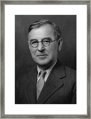 Irving Laucks Framed Print by Chemical Heritage Foundation