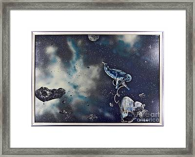 Is Anybody Out There Framed Print by Murphy Elliott