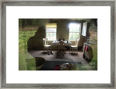Is That Me Framed Print by Graham Foulkes