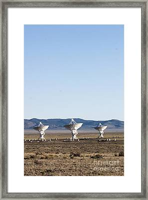 Is There Something Out There Framed Print by Steven Ralser