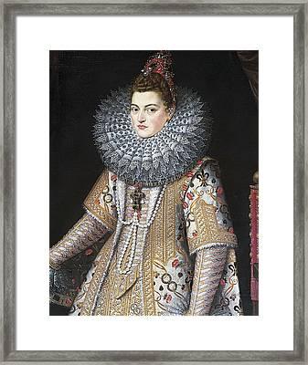 Isabella Clara Eugenia 1566-1633 Framed Print by Everett
