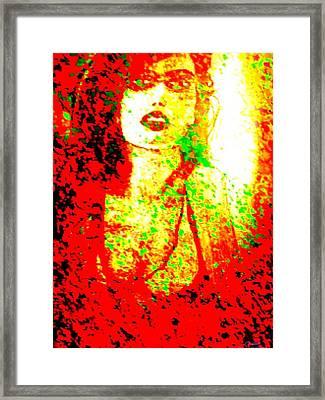 Strangely Enough Framed Print by Larry E Lamb