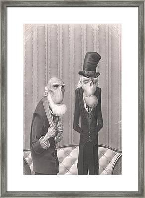 Isaiah And Bartholomew Framed Print by Richard Moore