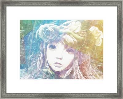 Isangelle Clariscendre Framed Print by Barbara Orenya