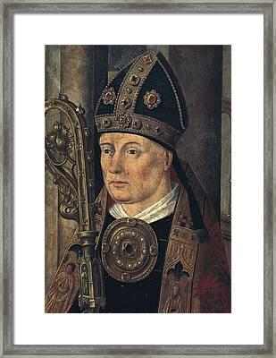 Isidore Of Sevilla, Saint 560-636 Framed Print by Everett