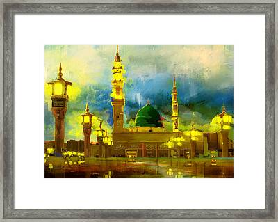 Islamic Painting 002 Framed Print by Corporate Art Task Force
