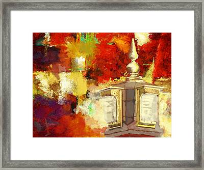 Islamic Painting 003 Framed Print by Catf
