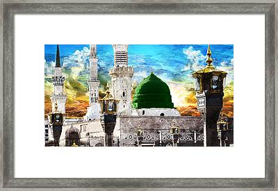 Islamic Painting 004 Framed Print by Catf