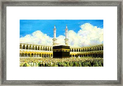 Islamic Painting 006 Framed Print by Catf
